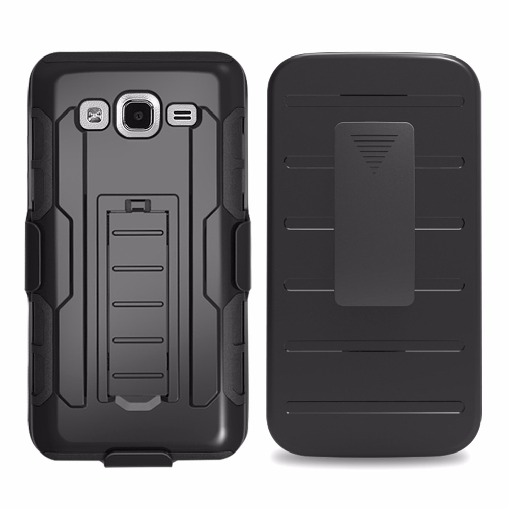 Army Phone Case For Samsung Galaxy On 5 G550 O5 On5 O 5 G 550 PC + Silicone Anti Shock Belt Clip Strap Holster Slide Case Cover
