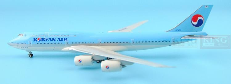 Special offer: Wings XX4232 JC Korean Air HL7630 1:400 B747-8i commercial jetliners plane model hobby spike wings xx4502 jc turkey airlines b777 300er san francisco 1 400 commercial jetliners plane model hobby