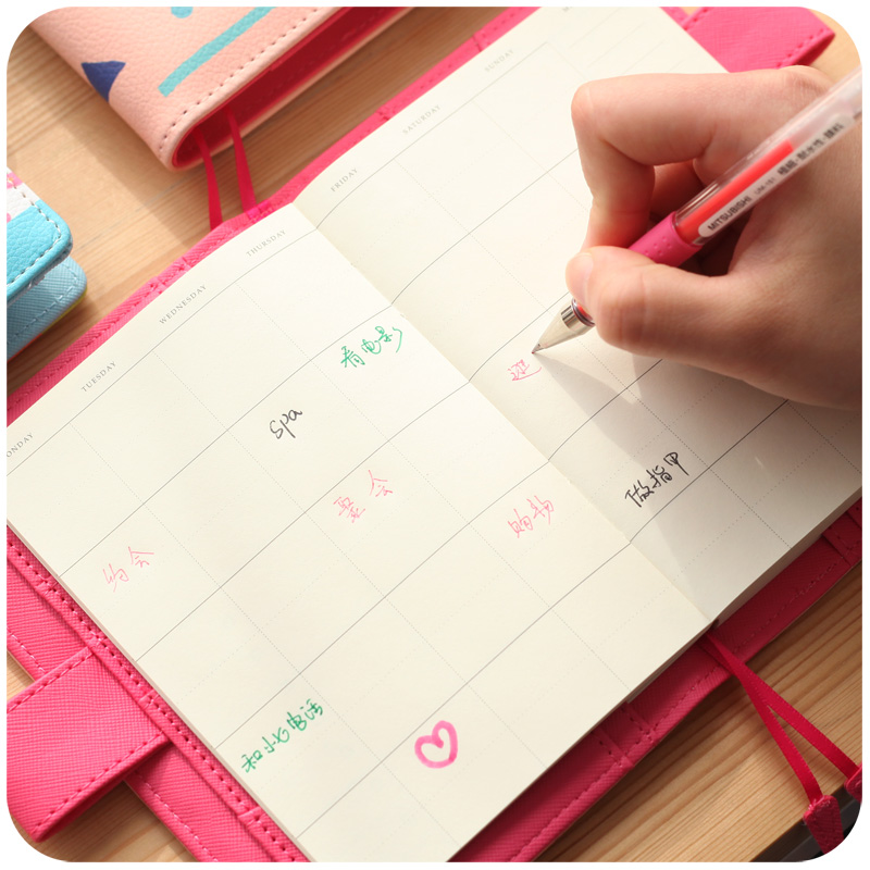Online Buy Wholesale leather agenda planner from China leather ...