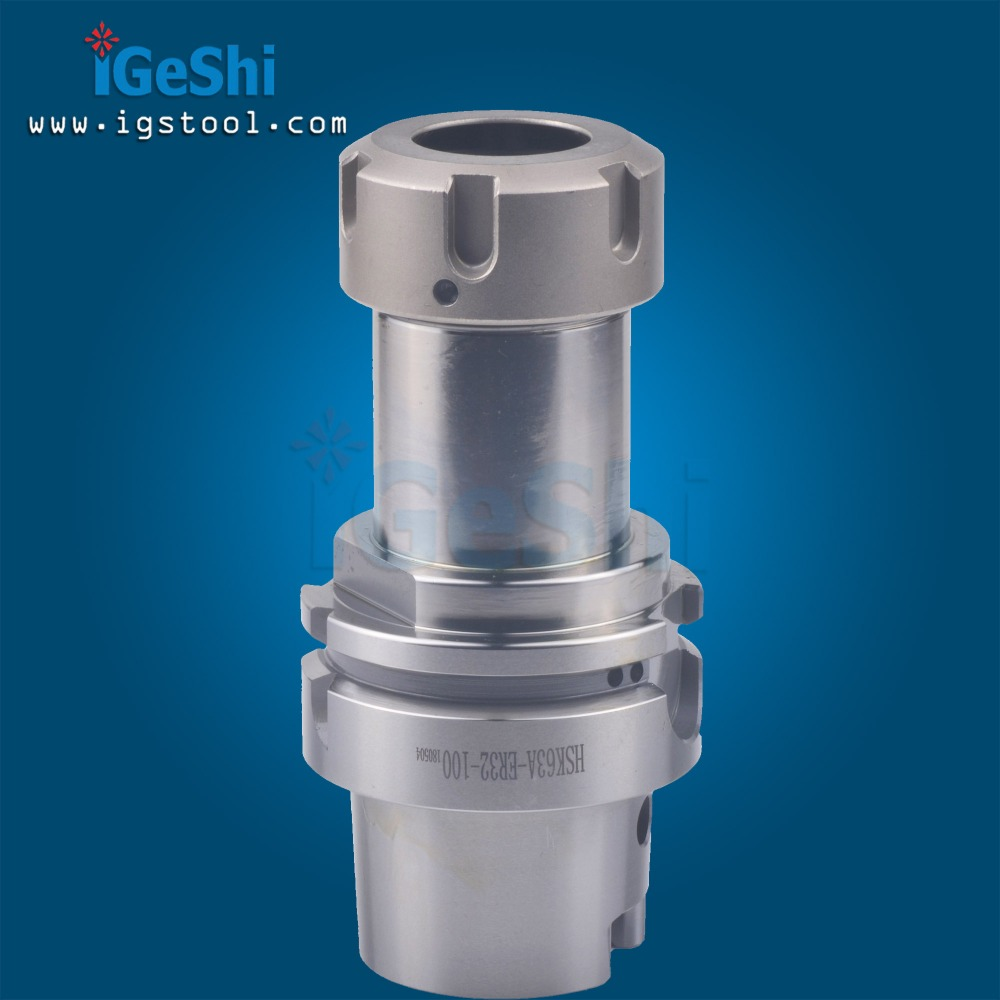 <font><b>HSK63A</b></font> ER32 100MM Collet Chuck Tool Holder For CNC Milling image
