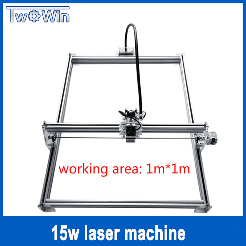 DIY 15w big power laser metal engraver, laser metal cutting machine,1*1m,big work size laser engrave machine,laser metal marking high power promotion price possible portable metal fiber laser marking machine akg6090 page 3