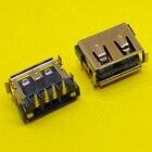 New! 10pcs/lot USB 2.0 Port Jack Plug Female Socket Motherboard Connector for Acer Aspire 5232 5241 5516 5517 5532 5541