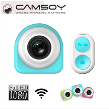 HD 1080P Mini Camera Small Self Timer Camera Wireless 2.4G Remote Control Wifi Adhesive Micro Outdoor DV Camera waterproof Podo