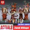 1990pcs Lepin Star Wars Ewok Village Building Blocks Juguete Para Construir Boys Bricks Educational Toys Funny