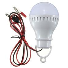 E27 2.5W 5730 Pure White LED Bulbs Solar Lamp Home Camping Light 12V