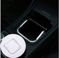 ABS Chrome Center Storage Box Frame Stickers Trim For Mercedes Benz CLA GLA A Class B200 220 A180 W176 W117 C117 Accessories