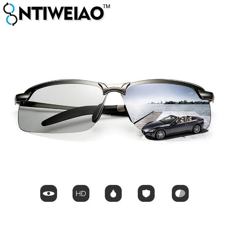 NTIWEIAO сплав высокого качества UV400 поляризованных солнцезащитных очков мужчин очки мужские вождения солнцезащитные очки для мужчин солнцеза...