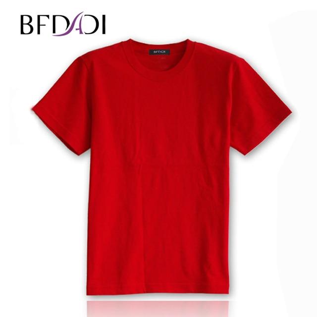 BFDADI 2016 New Big Size xl xxl xxxl 4xl T shirts Summer Mens Short Sleeve Men T-shirt Men's The Novelty Original T-shirt