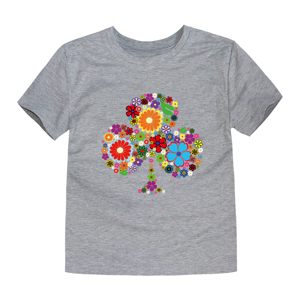 HTB1q1ktRFXXXXaaXXXXq6xXFXXX7 - TINOLULING 2018 Summer Kids Flower Tree T-Shirt Boys Girls Tree T Shirt Children Tops Baby Tees For 2-14 Years