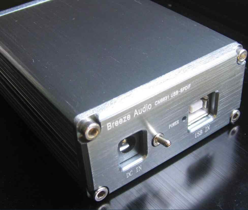 新しい CM6631 USB 同軸/Spdif Dac 192 Khz/24bit ハイファイアンプ G1-001