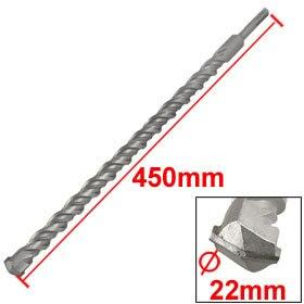 SDS Plus Shank Concrete 22mm Width Head 450mm Long Twist Impact Drill Bit Gun Drill Bit 6*160/12*450/20*210/16*350/ 14*350