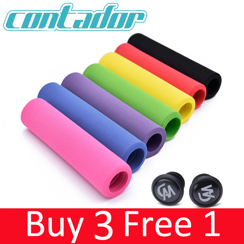Grip-Light Mtb-Handlebar Bicycle-Grip Sponge-Material Contador Non-Slip High-Density