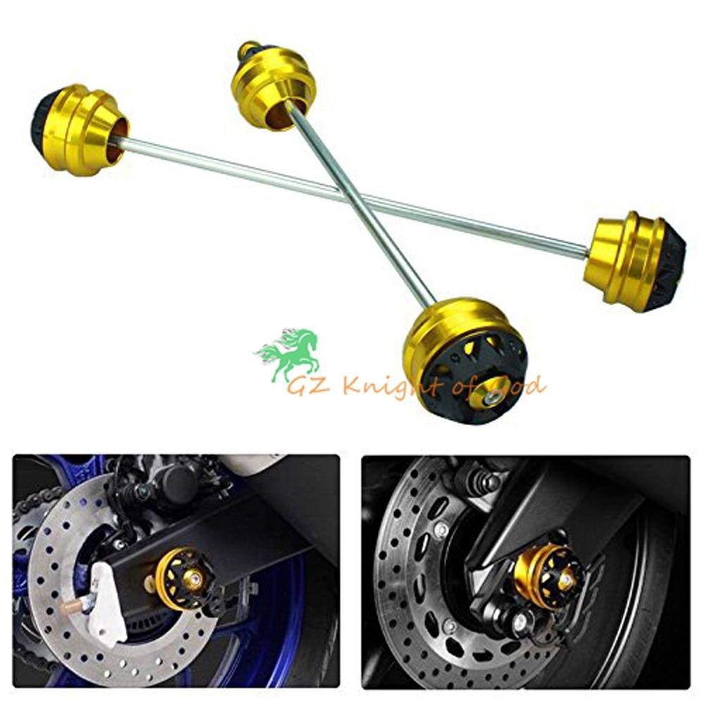 3D Front & Rear Axle Fork Slider Crash Protector For XSR900 XSR 900 2016 2017 MT09 FZ09 FJ09 MT-09 FZ-09 FJ-09 13-17 550t001m1r3e0l d sub backshells split bkshll top rear mt str mr li