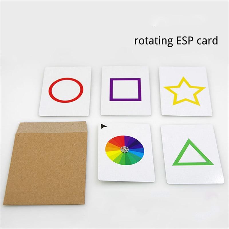 Professional ESP Prediction Card Magic Prop Close-up Tricks Stage Illusion Props