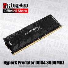 Kingston 3000MHz DDR4 CL15 DIMM XMP HX430C15PB3 16 HyperX Predator 8GB 16GB pamięci Ram ddr4 na pamięć stacjonarna pamięci Ram tanie tanio Nowy NON-ECC 288pin 3000 MHz HX430C15PB3 16 HyperX-3000-16G Dożywotnia Gwarancja Pojedyncze 1 2 V Pulpit 9-9-9-24 3cm x 3cm x 3cm (1 18in x 1 18in x 1 18in)