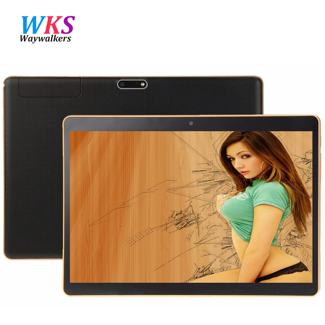 Free shipping 9.6 inch 3G 4G Lte Tablet PC Android 5.1 Octa Core 4G RAM 64GB ROM Dual SIM Card bluetooth tablets 10 10.1 + Gifts
