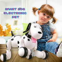 Birthday Gift RC walking dog 2.4G Wireless Remote Control Smart Dog Electronic Pet Educational Children's Toy Robot Dog