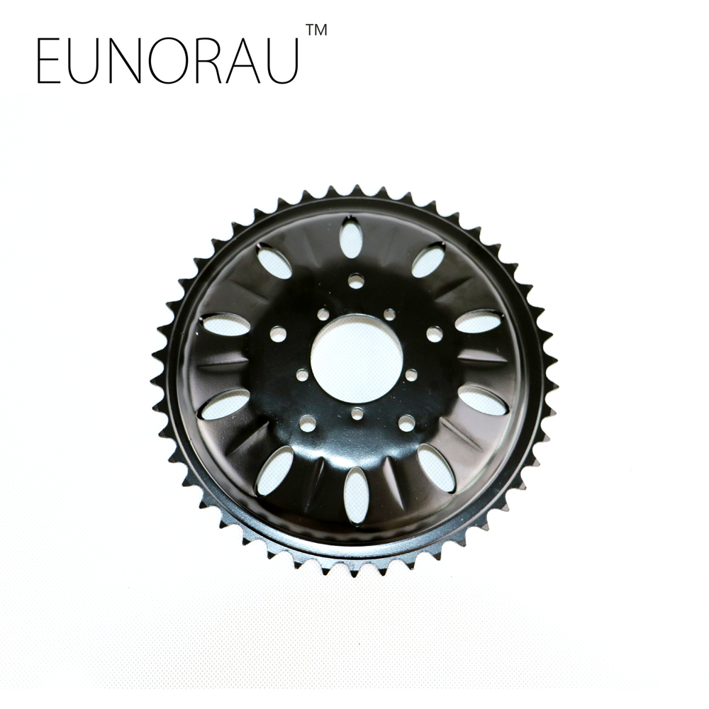 46T chainwheel for bafang 8fun mid drive motor BBSHD/BBS03 chain ring sprocket wheel crank set
