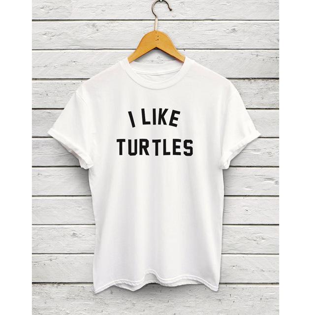I Like Turtles shirt – meme shirt, tumblr shirts, turtle tshirt, nemo shirts, i like turtles tshirt, viral tshirt free shipping