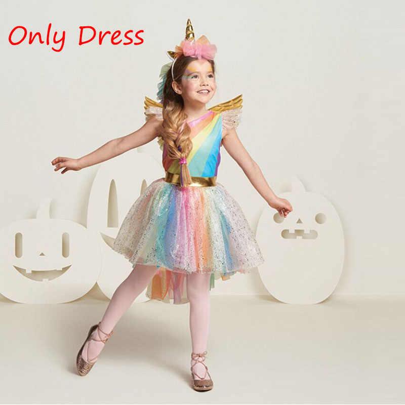 11f8c19a2404 Bebé niña unicornio princesa vestido niño niña cumpleaños fiesta tutú vestido  niños chico unicornio fiesta Halloween