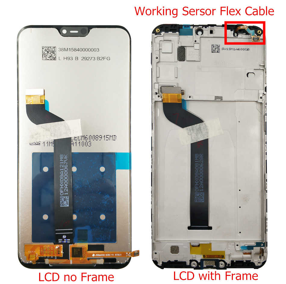 for Xiaomi Mi A2 Lite/ Redmi 6 Pro LCD Display with Frame Digitizer Touch Screen LCD for Xiaomi Mi A2Lite Display Repair Parts