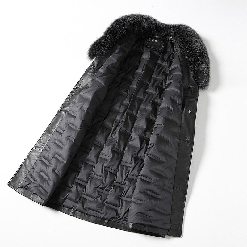 Nouveau De Bas Manteaux Renard Le Vers Chaqueta Peau Noir En Réel Mouton Veste Véritable Naturel Femmes Mujer D'hiver Fourrure Z133 Col Manteau Cuir 7x6wq0r7a