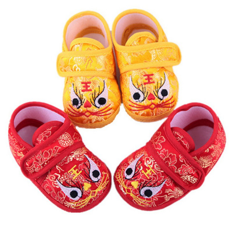 Baby Shoes Sneakers Toddler Breathable Boy Cartoon New Soft 2-12M Embroidery Soled Casual