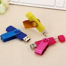 2 in 1 OTG usb flash drive 16gb 32gb pen drive 8g usb flash 64gb 128gb memory st