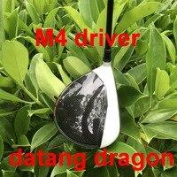 Качество OEM Гольф драйвер datang Дракон M4 драйвера 9 или 10,5 градусов с Фубуки графит Вал жесткая flex шлем ключ гольф c