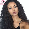 250% Density Full Lace Human Hair Wigs Loose Wave Curly Lace Front Human Hair Wigs For Black Women Brazilian Full Lace Front Wig