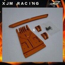 1/5 rc car racing parts, Alloy front fender/bumper for baja 5b T1000GT