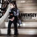 Lavensey 3-10Y Niño Baby Girl Dress Kids Otoño Bowknot Girls Ropa Color Sólido de Los Niños Ropa Niños Vestido de Muy Buen Gusto