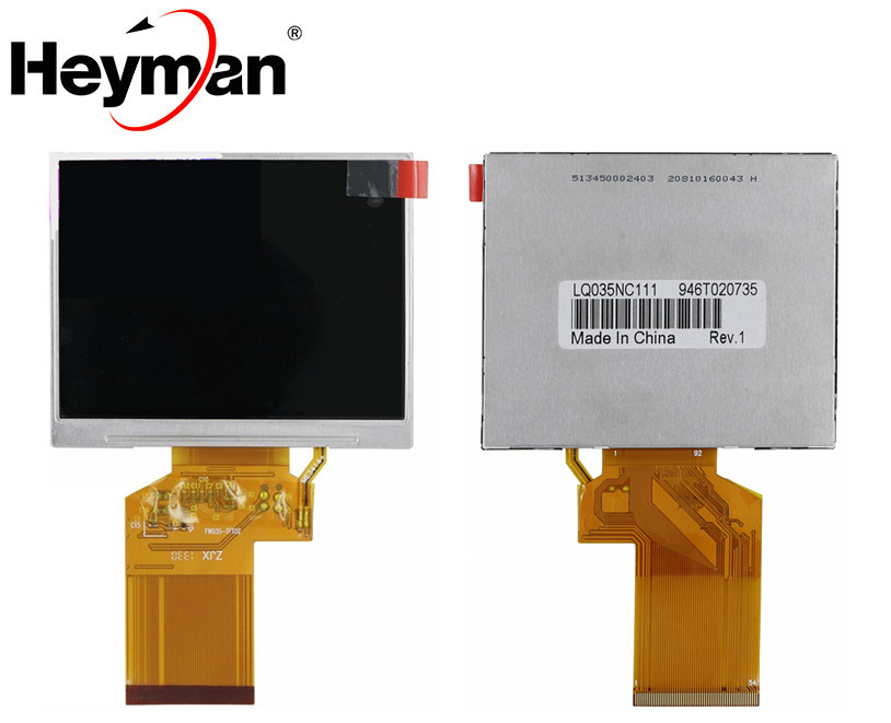 Heyman 3.5 inch <font><b>HD</b></font> TFT for <font><b>Satlink</b></font> <font><b>WS</b></font>-<font><b>6906</b></font> <font><b>WS</b></font> <font><b>6906</b></font> Satellite Finder LQ035NC111 LQ035NC121 LCD Screen panel image