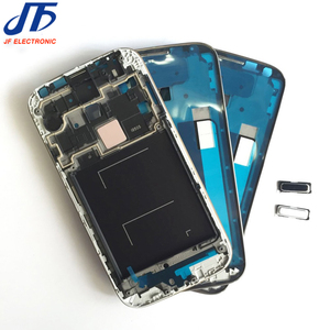 10pcs/lot New Front Housing Middle Frame Bezel Plate LCD Case For Samsung Galaxy S4 I9500 I9505 I337 I545 + Home Button