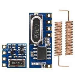 Открытый-SMART Long Range 433 мГц беспроводной трансивер комплект мини RF приемник передатчик Модуль + шт. 2 шт. Весна антенны для Arduino