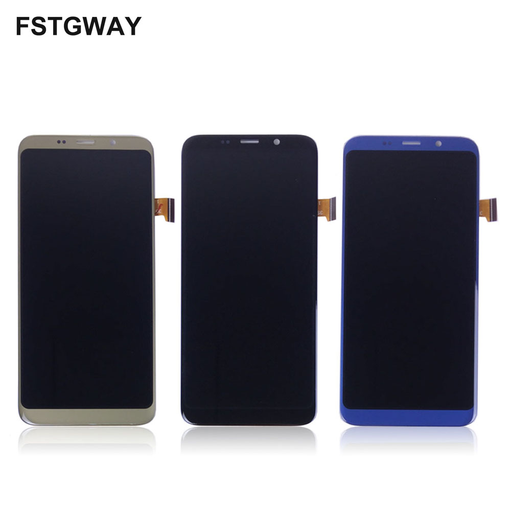 FSTGWAY For 5.7 inch Bluboo S8 LCD Display+Touch Screen LCD Digitizer Glass Panel Replacement+Free Tools