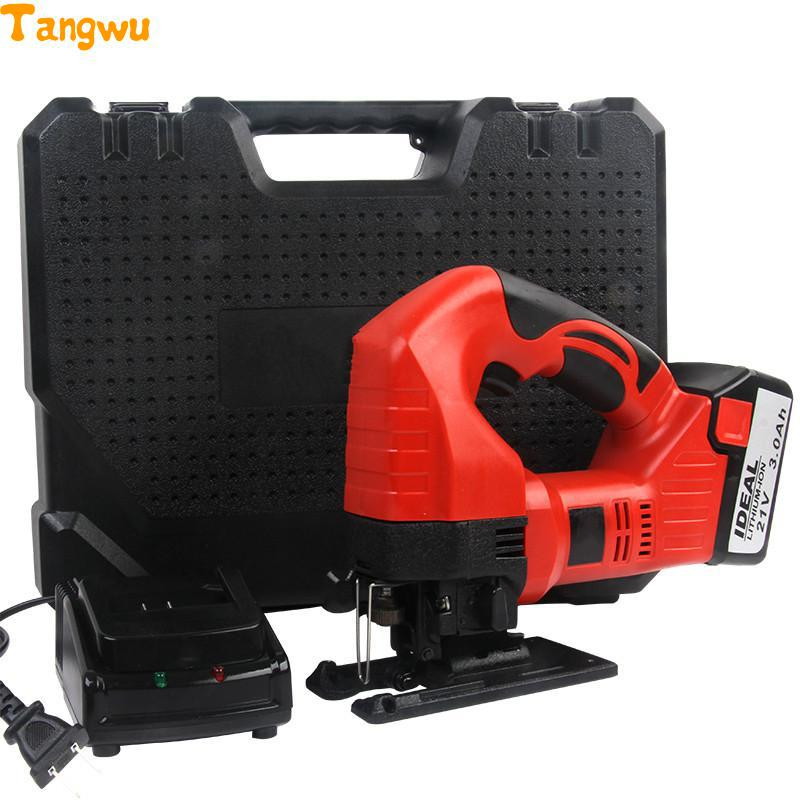 Free shipping Lithium electricity curve saw DIY font b woodworking b font saws cutting household garland