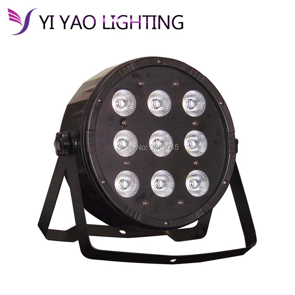 LED Par 9x12W RGBW Par Light With DMX512 for disco DJ projector Stage LightingLED Par 9x12W RGBW Par Light With DMX512 for disco DJ projector Stage Lighting