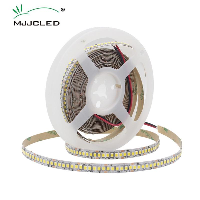 1M 2M 3M 4M 5M LED Strip 2835 Flexible Lighting Warm White Cool White IP20 LED Strip Light Indoor Decor DC 12V 24V