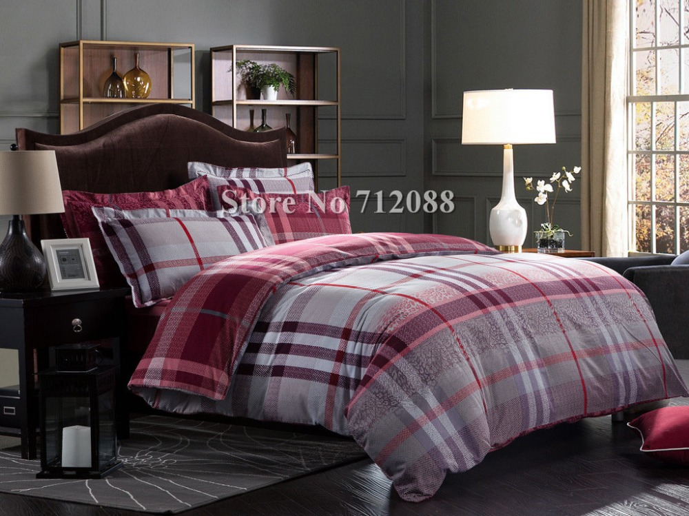Checked Bed Linen - Cbaarch.com : red and grey quilt - Adamdwight.com