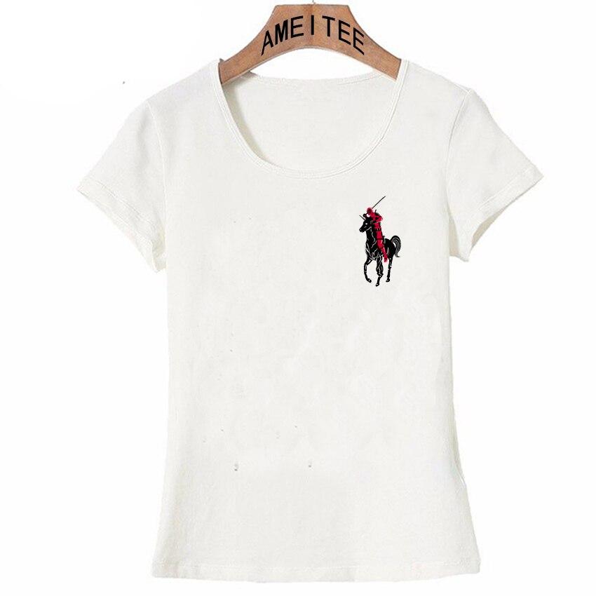 a00363be The Deadpool T-Shirt Summer fashion Women T Shirt 2018 new design Tops cute  girl
