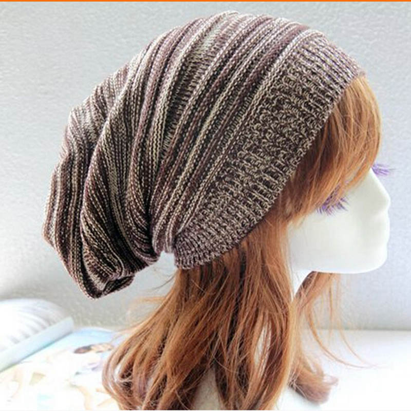Men Caps Rasta Women Winter Hat Hit Color Knitted Beanies For Ladies New Fashion Hip Hop Cap Polyester Fabric Bonnet Homme Hiver
