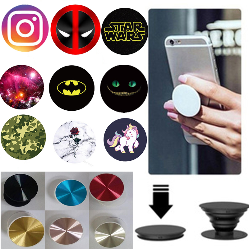 new product b3788 7e3a8 360 Degree Finger Ring Holder Mobile Phone Case Accessories For Iphone X 5  6 6S 7 8 Plus Samsung Xiaomi Redmi Back Cover