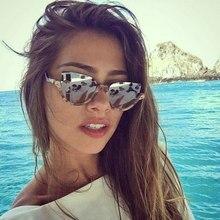 FENCHI gafas de sol de las mujeres del ojo de gato de lujo diseño retro marca gafas de sol para gafas de mujer okulary lunettes oculos de sol feminino