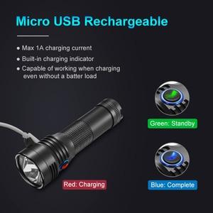 Image 5 - Lumintop b01 luz para bicicleta micro usb, recarregável, lanterna 21700/18650, antirreflexo, design de 850 lúmens, 210 metros