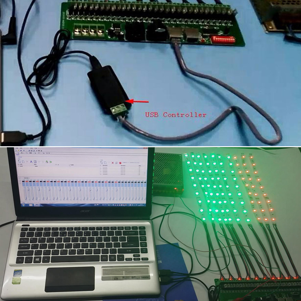 Dmx Decoder 30 Channels Rgb Led Strip Lights Driver 512 Dimmer Electrical Wiring No Plastic Box Dc 9v 24v Dmx512 Controller In Controlers From Lighting On