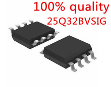 Free shipping 10PCS W25Q32BVSIG 25Q32BVSIG 25Q32BVSSIG 25Q32 BVSIG SOP8 Chip is 100% work of good quality IC