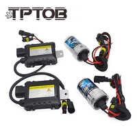 TPTOB 35W 55W Slim Ballast kit HID Xenon Light bulb 12V H1 H3 H7 H11 9005 9006 4300k 6000k 8000k Auto Xeno Headlight Lamp