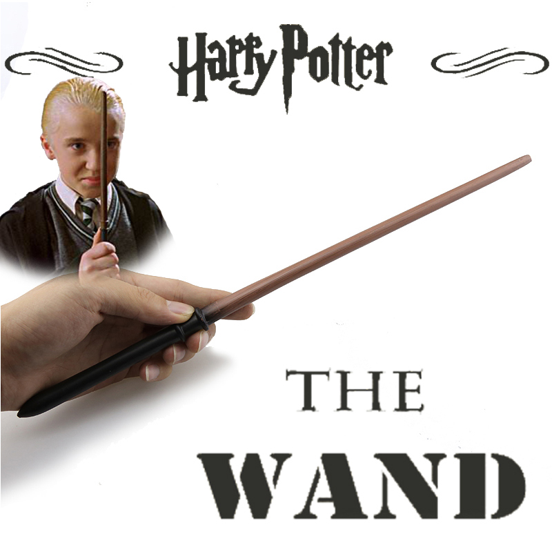 2017 Metal/Iron Core Draco Malfoy Magic Wand/ Harry Potter Magical Wand Gift Box Packing