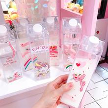 Fashion Cartoon Flamingos Student Bottle Portable Durable High Quality Tour Hiking Drinkware Leakproof Practical Water